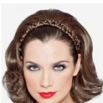 Braided Headband with Hair by Paula Young